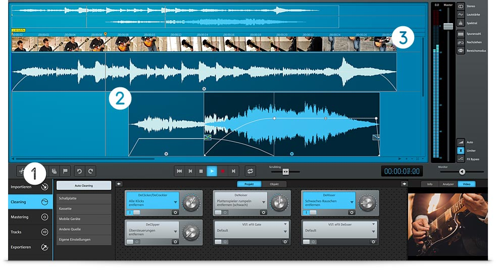 Audio und Music Lab Premium Screen