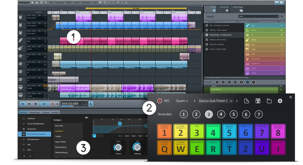 Music Maker Live Screen